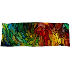 Stained Glass Patterns Colorful Body Pillow Case Dakimakura (Two Sides)