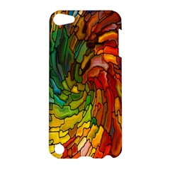 Stained Glass Patterns Colorful Apple iPod Touch 5 Hardshell Case