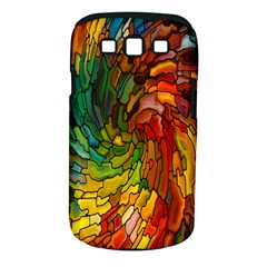 Stained Glass Patterns Colorful Samsung Galaxy S Iii Classic Hardshell Case (pc+silicone)