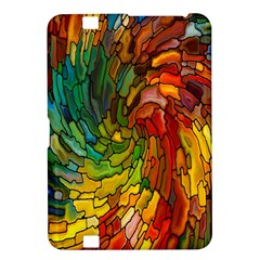 Stained Glass Patterns Colorful Kindle Fire Hd 8 9