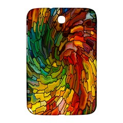 Stained Glass Patterns Colorful Samsung Galaxy Note 8 0 N5100 Hardshell Case