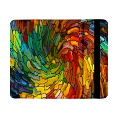 Stained Glass Patterns Colorful Samsung Galaxy Tab Pro 8.4  Flip Case