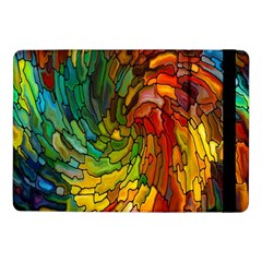 Stained Glass Patterns Colorful Samsung Galaxy Tab Pro 10.1  Flip Case