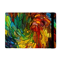 Stained Glass Patterns Colorful Ipad Mini 2 Flip Cases