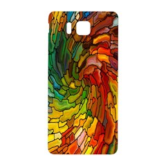 Stained Glass Patterns Colorful Samsung Galaxy Alpha Hardshell Back Case