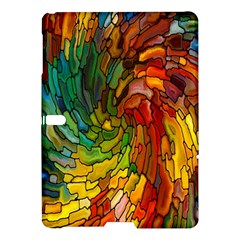 Stained Glass Patterns Colorful Samsung Galaxy Tab S (10 5 ) Hardshell Case