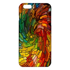 Stained Glass Patterns Colorful iPhone 6 Plus/6S Plus TPU Case