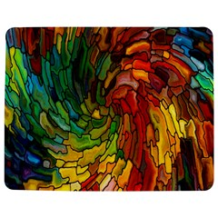 Stained Glass Patterns Colorful Jigsaw Puzzle Photo Stand (rectangular)
