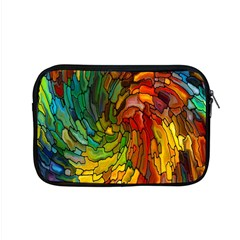 Stained Glass Patterns Colorful Apple Macbook Pro 15  Zipper Case