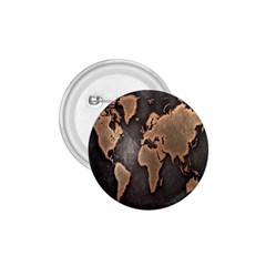 Grunge Map Of Earth 1 75  Buttons
