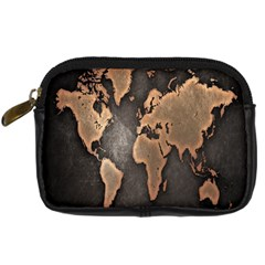 Grunge Map Of Earth Digital Camera Cases
