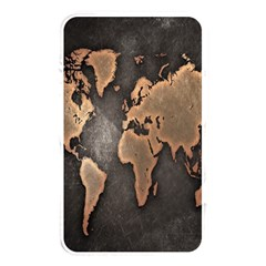 Grunge Map Of Earth Memory Card Reader