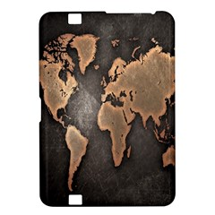 Grunge Map Of Earth Kindle Fire Hd 8 9