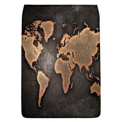 Grunge Map Of Earth Flap Covers (l)
