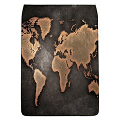 Grunge Map Of Earth Flap Covers (S)