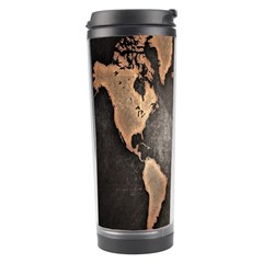 Grunge Map Of Earth Travel Tumbler