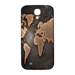 Grunge Map Of Earth Samsung Galaxy S4 I9500/i9505  Hardshell Back Case