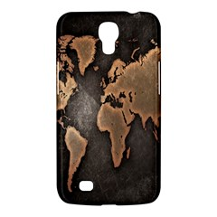 Grunge Map Of Earth Samsung Galaxy Mega 6 3  I9200 Hardshell Case