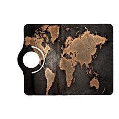 Grunge Map Of Earth Kindle Fire HD (2013) Flip 360 Case