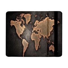 Grunge Map Of Earth Samsung Galaxy Tab Pro 8 4  Flip Case