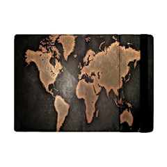 Grunge Map Of Earth iPad Mini 2 Flip Cases
