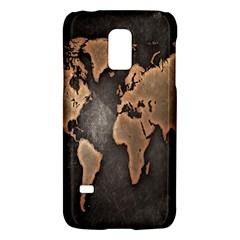 Grunge Map Of Earth Galaxy S5 Mini