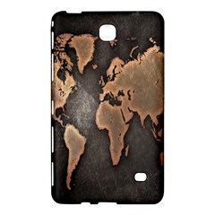 Grunge Map Of Earth Samsung Galaxy Tab 4 (7 ) Hardshell Case