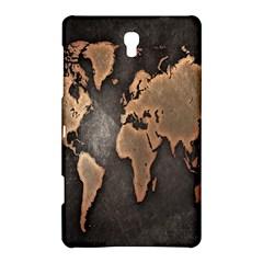 Grunge Map Of Earth Samsung Galaxy Tab S (8 4 ) Hardshell Case