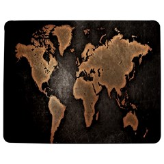 Grunge Map Of Earth Jigsaw Puzzle Photo Stand (Rectangular)