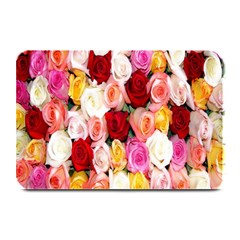 Rose Color Beautiful Flowers Plate Mats
