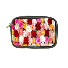 Rose Color Beautiful Flowers Coin Purse