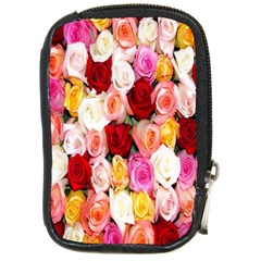 Rose Color Beautiful Flowers Compact Camera Cases
