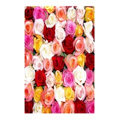 Rose Color Beautiful Flowers Shower Curtain 48  X 72  (small)