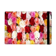 Rose Color Beautiful Flowers Apple Ipad Mini Flip Case