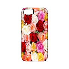 Rose Color Beautiful Flowers Apple iPhone 5 Classic Hardshell Case (PC+Silicone)