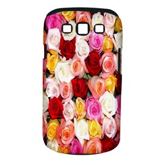 Rose Color Beautiful Flowers Samsung Galaxy S Iii Classic Hardshell Case (pc+silicone)