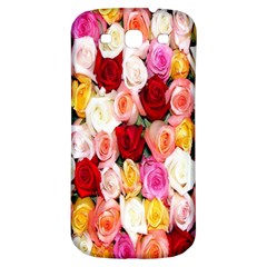 Rose Color Beautiful Flowers Samsung Galaxy S3 S Iii Classic Hardshell Back Case
