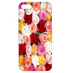 Rose Color Beautiful Flowers Apple iPhone 5 Hardshell Case with Stand