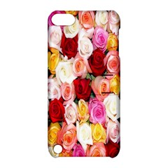 Rose Color Beautiful Flowers Apple Ipod Touch 5 Hardshell Case With Stand