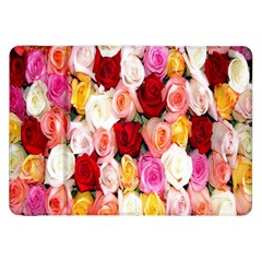 Rose Color Beautiful Flowers Samsung Galaxy Tab 8 9  P7300 Flip Case