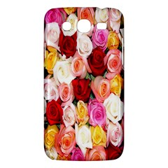 Rose Color Beautiful Flowers Samsung Galaxy Mega 5.8 I9152 Hardshell Case