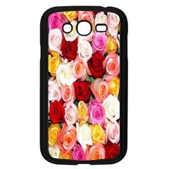 Rose Color Beautiful Flowers Samsung Galaxy Grand Duos I9082 Case (black)