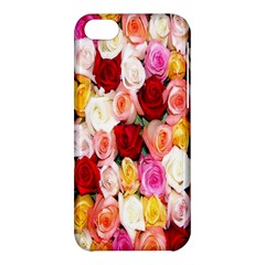 Rose Color Beautiful Flowers Apple Iphone 5c Hardshell Case