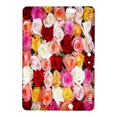 Rose Color Beautiful Flowers Kindle Fire Hdx 8 9  Hardshell Case