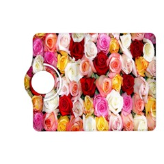 Rose Color Beautiful Flowers Kindle Fire HD (2013) Flip 360 Case