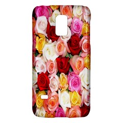 Rose Color Beautiful Flowers Galaxy S5 Mini