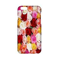 Rose Color Beautiful Flowers Apple Iphone 6/6s Hardshell Case