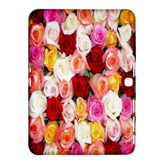 Rose Color Beautiful Flowers Samsung Galaxy Tab 4 (10 1 ) Hardshell Case
