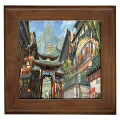 Japanese Art Painting Fantasy Framed Tiles