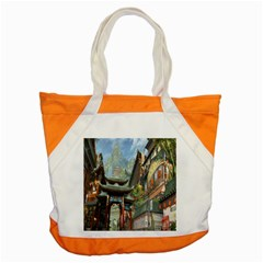 Japanese Art Painting Fantasy Accent Tote Bag